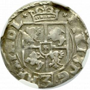 Zygmunt III Waza, Półtorak 1615, Kraków - NGC AU55