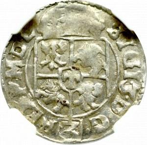 Zygmunt III Waza, Półtorak 1617, Kraków - NGC AU58
