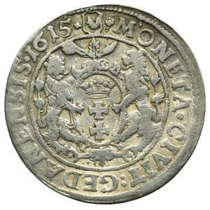 Zygmunt III Waza, Ort 1615, Gdańsk - nowy typ popiersia