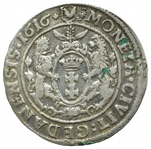 Sigismund III, 18 groschen 1616, Danzig