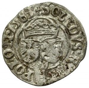 Stephan Bathory, Schilling 1583, Olcusia