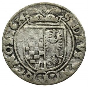 Śląsk, Stany Ewangelickie, 3 krajcary 1634, Wrocław