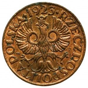 II Republic of Poland, 1 groschen 1923