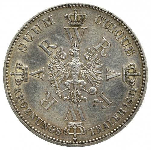 Germany, Prussen, Thaler 1861