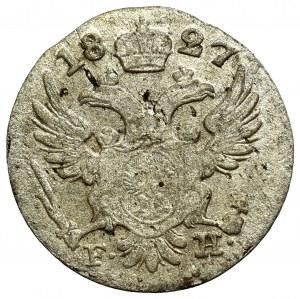 Kingdom of Poland, Nicholas I, 5 groschen 1827 FH