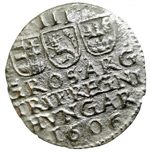 Transylvania, Stefan Bocskai, 3 groschen 1606