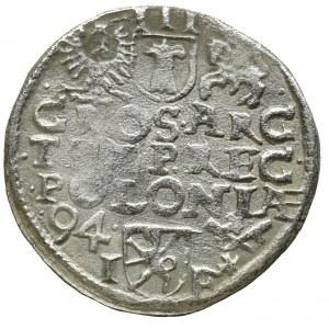 Zygmunt III Waza, Trojak 1594 Poznań