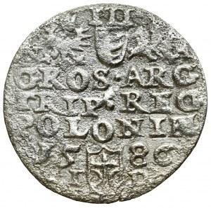Stephan Bathory, 3 groschen 1586, Olcusia