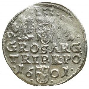 Sigismund III, 3 groschen 1601, Posen