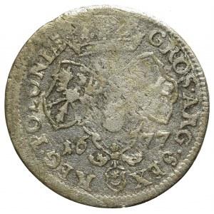John III Sobieski, 6 groschen 1677, Bromberg