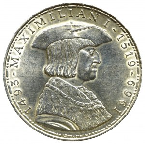 Austria, 50 schilling 1969 - 450 years of Maximilian I