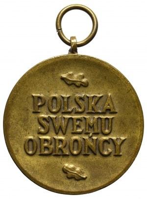 PSZnZ, Medal wojska (Polska swemu obrońcy) - wersja duża (37 mm)