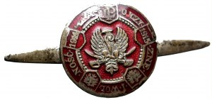 II RP, Odznaka pamiątkowa Legiony Polskie 'Za ojczyznę i wolność' - rzadka wersja