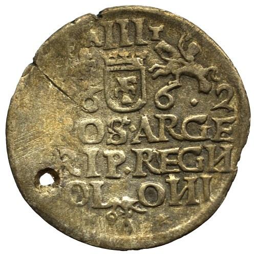 Jan II Kazimierz, Trojak 1662, Kraków