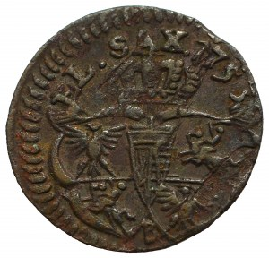 August III Sas, Szeląg 1753 - B