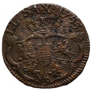 Germany, Saxony, Friedrich August II, Groschen 1755, Guben