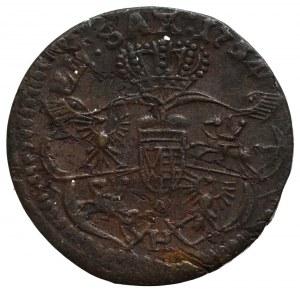 August III Sas, Grosz 1754 H