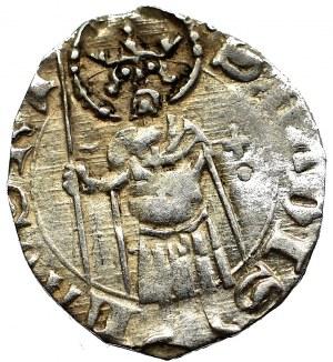 Hungary, Ludwik I, Denarius