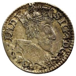 Zygmunt III Waza, Trojak 1593, Olkusz - nieopisany GROS*ARG