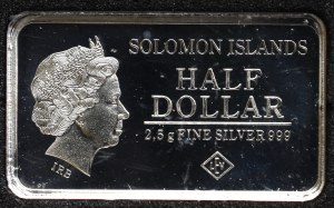Solomon Islands, 1/2 dollar 2015, Berlin