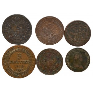 Russia and Austria, coins set