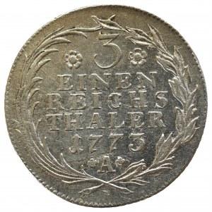Niemcy, Prusy, Fryderyk II, 1/3 talara 1773 Wroclaw