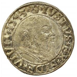 Prusy Książęce, Albrecht Hohenzollern, Grosz 1545, Królewiec