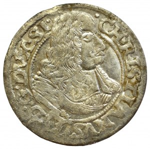 Schlesien, Chritian, 3 kreuzer 1668, Brieg