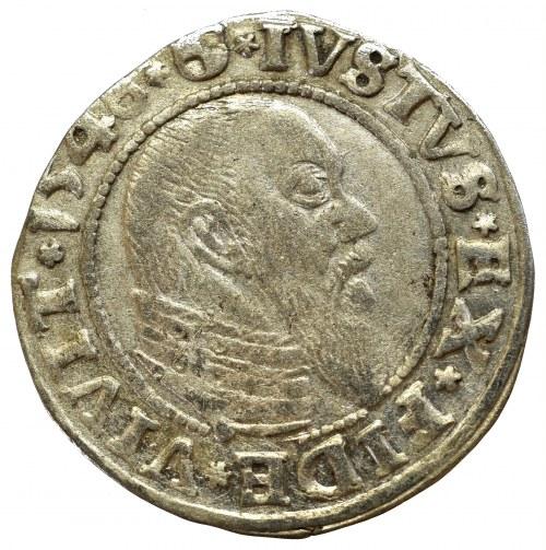 Prusy Książęce, Albreht Hohenzollern, Grosz 1546, Królewiec