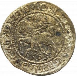 Zygmunt II August, Półgrosz 1563, Wilno - LI/LITV
