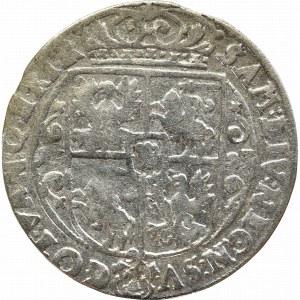 Zygmunt III Waza, Ort 1623, Bydgoszcz - PRV M ciekawsza obręcz korony