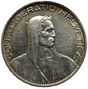 Szwajcaria, 5 Franków 1925
