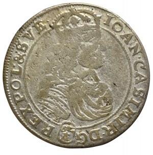 John II Casimir, 18 groschen 1668, Bromberg