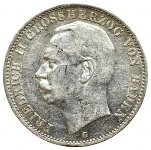 Niemcy, Badenia, 3 marki 1912