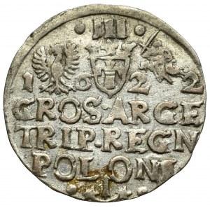 Sigismund III, 3 groschen 1622, Cracow