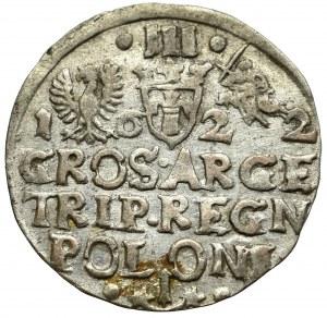Zygmunt III Waza, Trojak 1622, Kraków