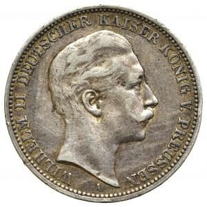 Germany, Preussen, 3 mark 1909