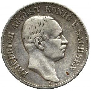 Niemcy, Saksonia, 2 marki 1905