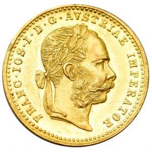 Austria-Hungary, Franz Joseph, Ducat 1885
