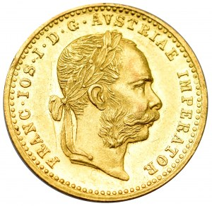 Austro-Węgry, Franciszek Józef, Dukat 1885