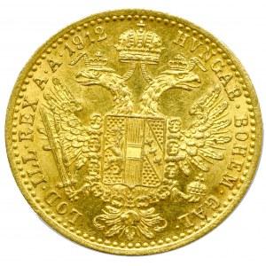 Austria-Hungary, Franz Joseph, Ducat 1912