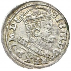 Zygmunt III Waza, Trojak 1607, Kraków - rzadkość