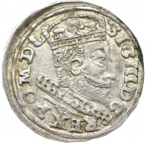Sigismund III, 3 groschen 1607, Cracow - extremely rare