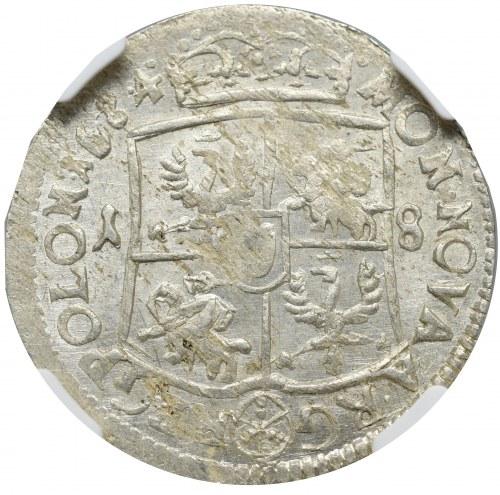 Jan III Sobieski, Ort 1684, Bydgoszcz - NGC MS62