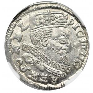 Zygmunt III Waza, Trojak 1598, Lublin - NGC MS65+