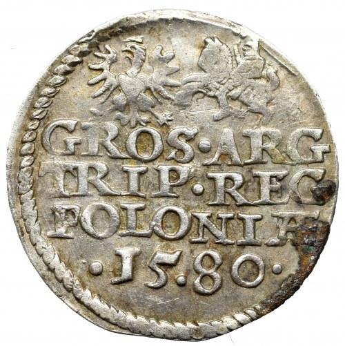 Stephan Bathory, 3 Groschen 1580