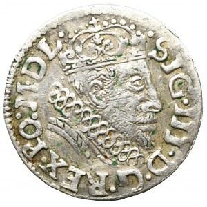 Zygmunt III Waza, Trojak 1608, Wilno - rzadkość
