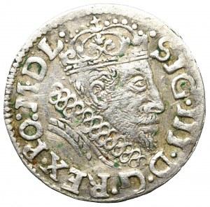 Sigismund III, 3 groschen 1608, Vilnius - extremely rare