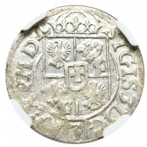 Zygmunt III Waza, Półtorak 1618, Bydgoszcz - NGC MS62