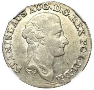 Stanisław August Poniatowski, Złotówka 1788 - NGC AU58